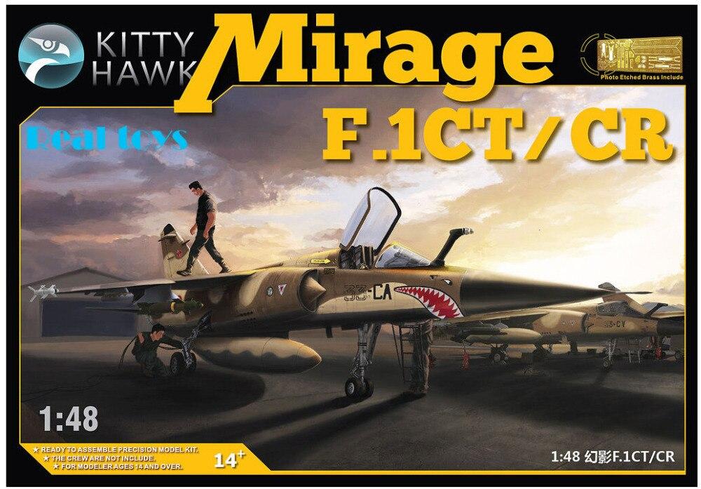 Kitty hawk KH80111 1/48 Mirage F.1CT/CR de plástico modelo kit