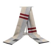 Кашемировый мужской шарф, роскошный брендовый классический шарф из Пашмина, женский шарф с кисточками, шарфы, накидки, осенне-зимнее мужско...