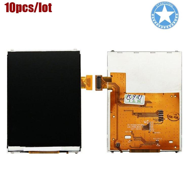 10 unids/lote pantalla LCD para Samsung Galaxy Y S5360 pieza de repuesto
