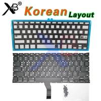 Korea keyboard For MacBook Air 13.3 A1369 A1466 Korean Korea keyboard/Backlight Backlit+100pcs keyboard screws 2010-2017 Years