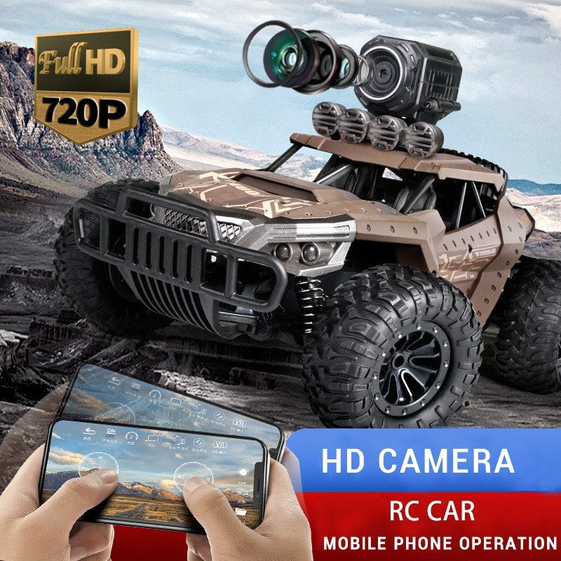 1:18 Electric 2.4G RC Car Rock Crawler Remote Control Toy Cars 25km/h On The Radio with Camera Controlled Drive Off-Road rc Toys enlarge