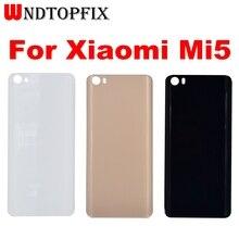 """Pour Xiaomi Mi5 couverture arrière étui de protection batterie couverture arrière boîtier de remplacement 5.15 """"pour Xiaomi Mi 5 couvercle de batterie avec colle"""