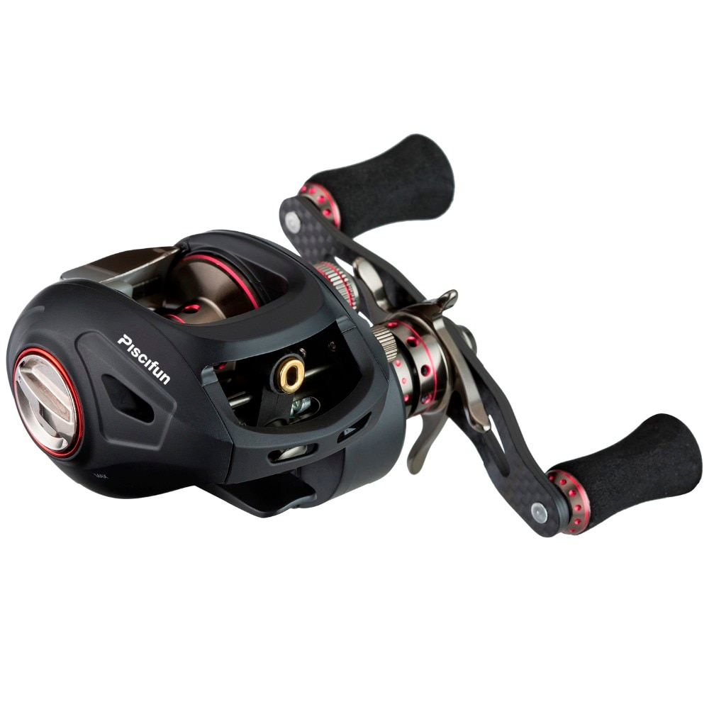 Piscifun SAEX ELITE Baitcasting Fishing Reel With Extra Spool Right Left Hand 13BB 7.3:1 167g Super Light Casting Fishing Reel enlarge