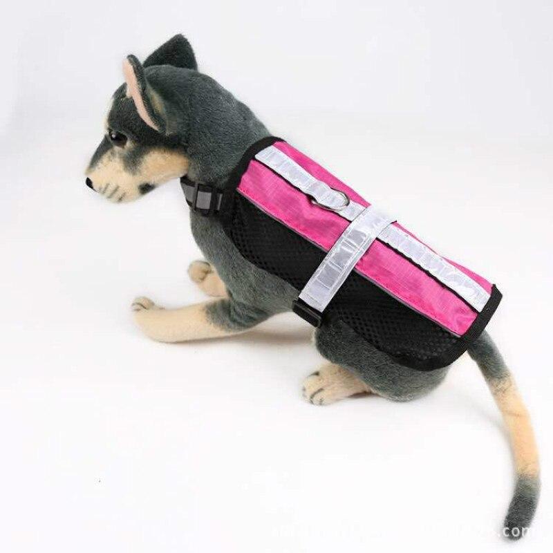 Suministros para mascotas arnés para perros pecho reflectante correa para el pecho malla transpirable Chihuahua cachorro Pitbull suministros para mascotas