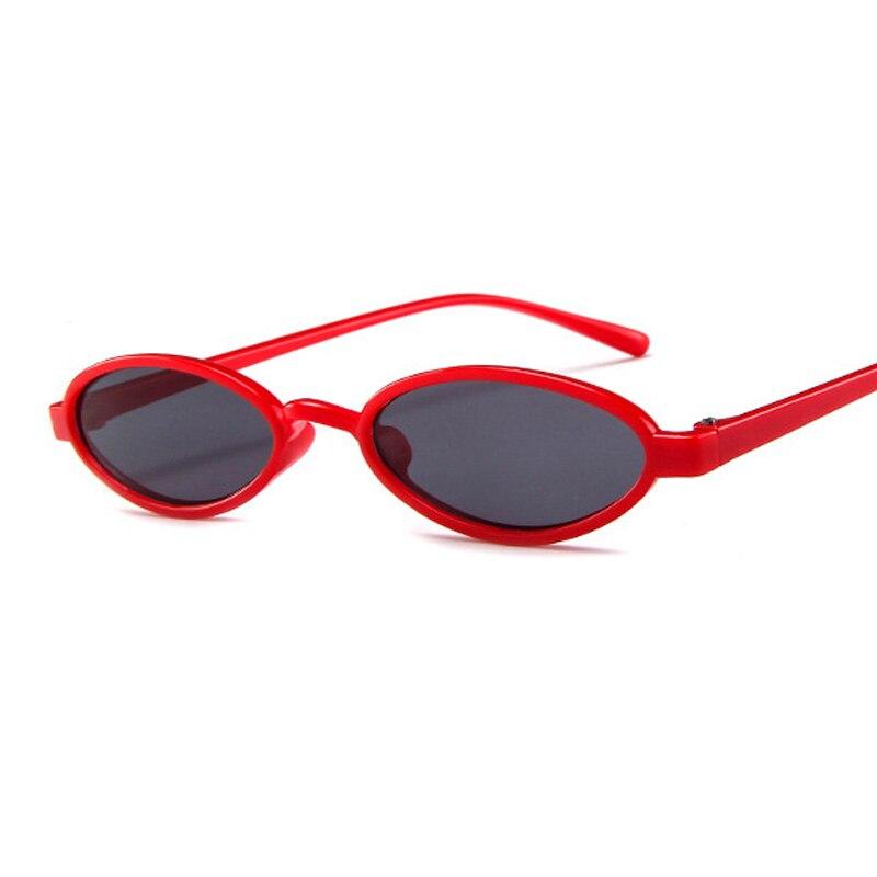 ¡Novedad de 2019! gafas de sol ovaladas pequeñas de estilo Vintage de diseñador para mujer, gafas de sol transparentes para mujer UV400