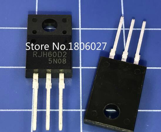 Enviar livre 20 piezas RJH60D2 TO-220F Novo local original vendendo circuitos integrados