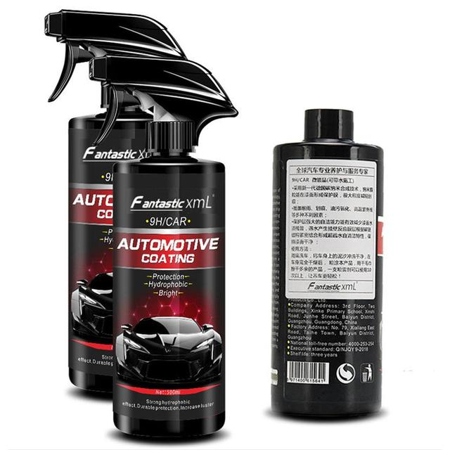 500ML Automotive Nano Coating Liquid Manual Quick Coat Polish Car Coating Agent Maintenance Tool Car Washing Accessories