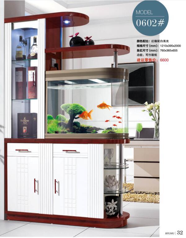 0602 # أثاث غرفة المعيشة خزانة مشروبات واحدة عرض منتجات مبرد نبيذ غرفة المعيشة غطاء خزانة مع حوض السمك خزانة