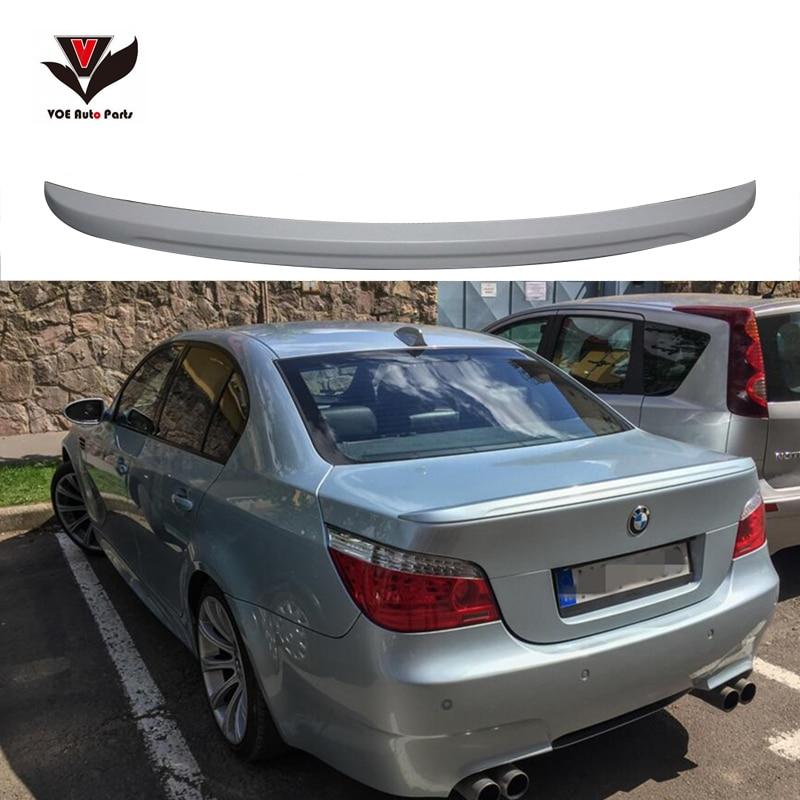VOE E60 M5-look Material de PU alerón trasero de estilo de coche para BMW E60 5 Series 520i 525i 530i 2004-2009