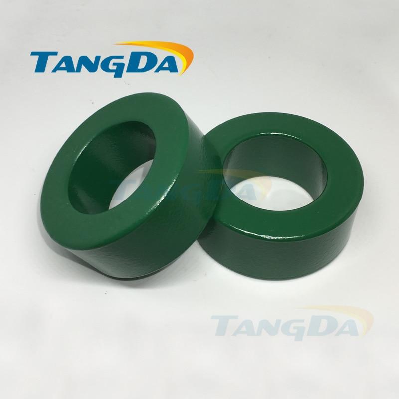 63 38 25 núcleo de ferrita verde aislado 63*38*25 anillo magnético bobina magnética inductanceanti-interferencia Filtro A.