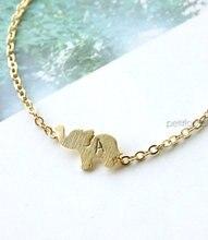 Bracelet célèbre en or éléphant, Bracelet à breloques tous les jours pour éléphant, Bracelet dorigine pour bijoux
