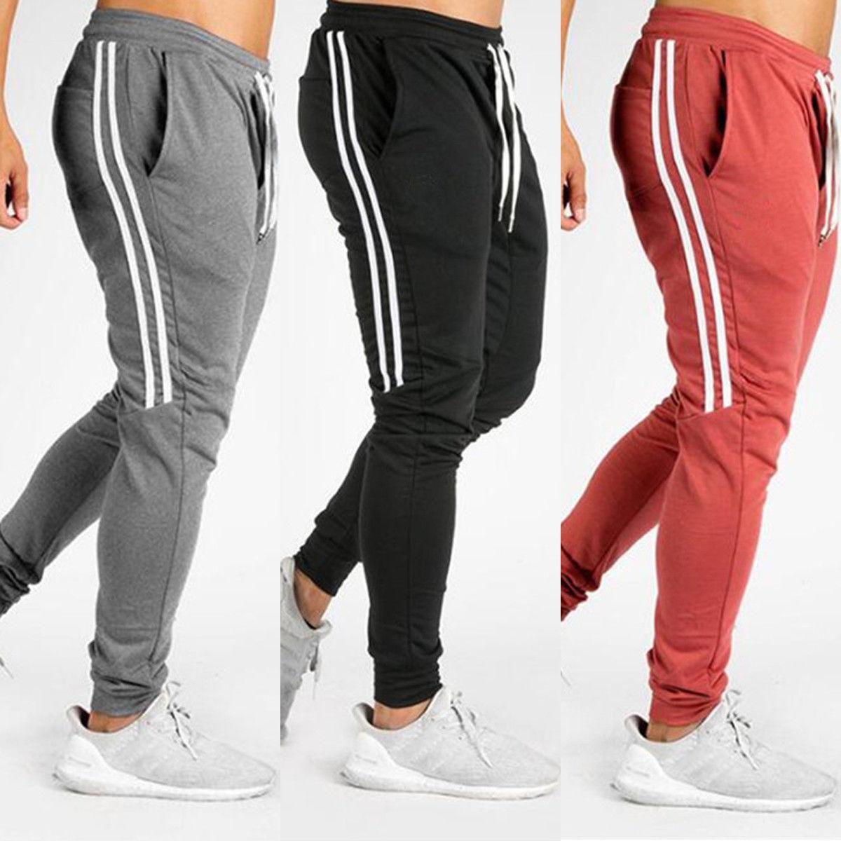 Pantalones informales largos para hombre, pantalones ajustados Jogge, pantalones de chándal de buena calidad, pantalones informales para hombre