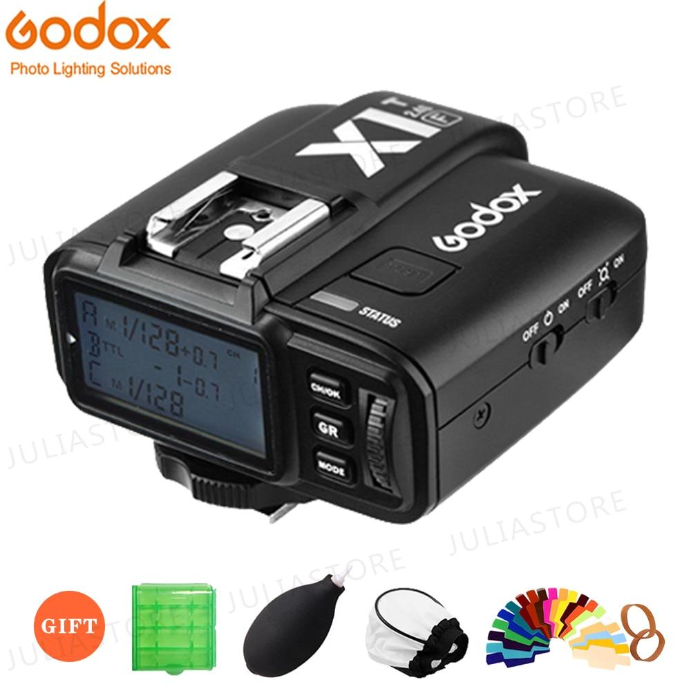Беспроводной передатчик вспышки GODOX для Canon, Nikon, Sony, Fujifilm, Olympus, 2,4G, TTL, HSS, X1T-F, X1T-C, X1T-S