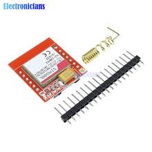 5 Pz/lotto Mini Più Piccolo SIM800L Gsm Gprs Modulo Bordo di Centro di Carta di Microsim Quad-Band Ttl Porta Seriale