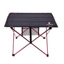 Outdoor Klapptisch Picknick Ultra-licht Aluminium Legierung Struktur Wasserdichte Camping Tisch Faltbare Picknick Tisch