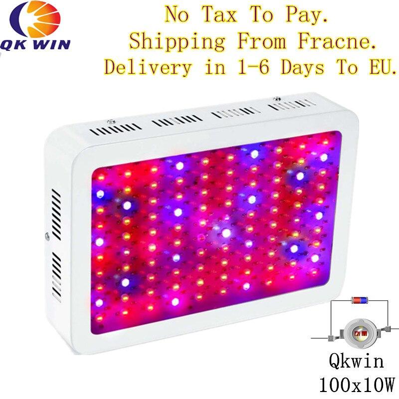 Francia almacén dropshipping. Exclusivo. 1000W Led crecen la luz 100x10W hidropónico de iluminación de espectro completo