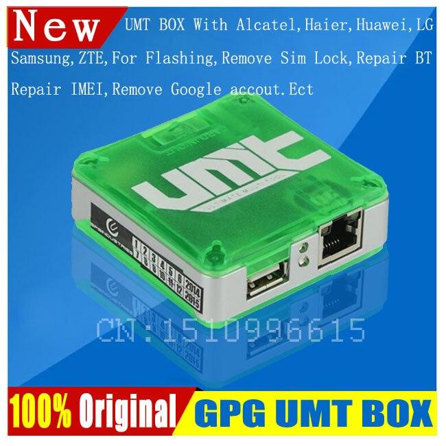 2018 original del producto final de la herramienta (UMT) UMT caja Alcatel Huawe1 Lava ZTE SAM Ect