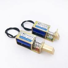 Cerraduras eléctricas TAU-S0837DL cerradura magnética dc 6V 12V 24V para el Cerradura para puerta de gabinete