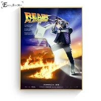 ready player one recreate movie posters and prints wall art decorative picture canvas painting for living room home decor