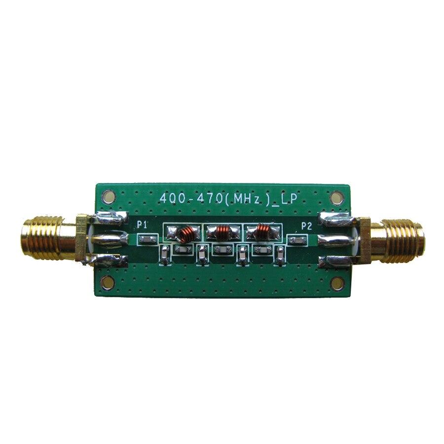 433 MHZ-5 ~ 0dBm filtro passa-baixa LPF 2.4GHZ ~ 2.6GHZ