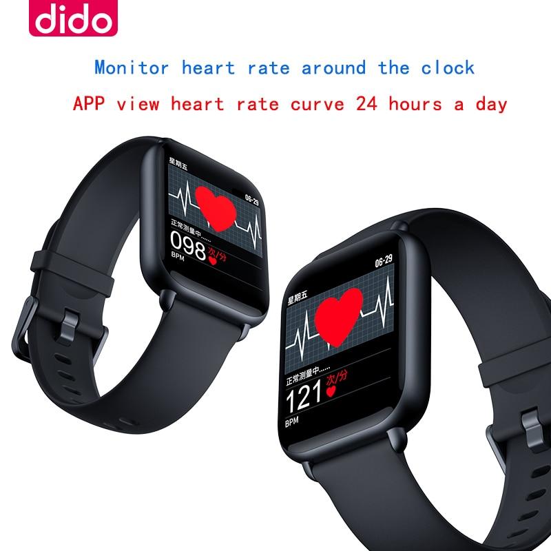 Reloj inteligente R1, reloj inteligente deportivo impermeable con Bluetooth, dispositivos portátiles, frecuencia cardíaca deportiva multifuncional para Xiaomi huawei ios