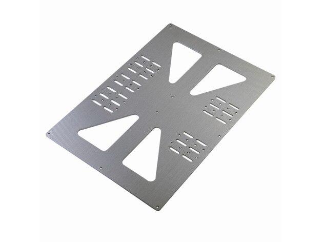 Reprap prusa i3 طابعة 3d y نقل لوحة تمديد y النقل لوحة ل prusa i3 مع متغير y-قضيب القطر 140 ملليمتر إلى 170 ملليمتر
