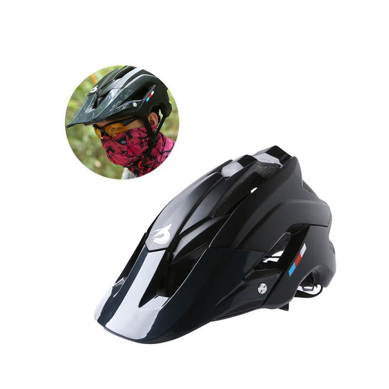 Bicicleta de Montaña casco ultraligero ajustable MTB bicicleta ciclismo casco al aire libre transpirable tapa de seguridad para los deportes al aire libre tamaño libre