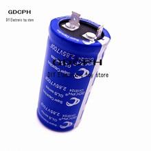 1pcs ultracapacitor 2.85V850F new capacitor auto rectifier capacitor farad capacitor backup power supply 2 pins