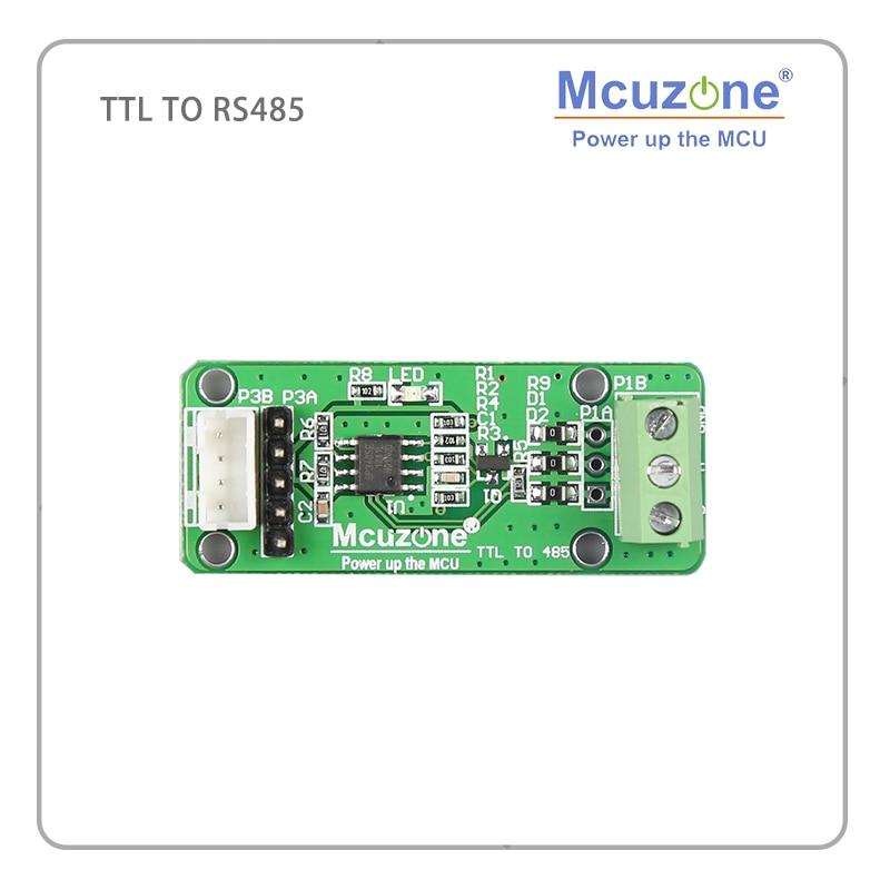 TTL/CMOS a RS-485 convertidor 2,54mm 2,0mm 3,96mm SP3485 S5PV210 N32926U1DN AT91SAM9X35 ATSAMA5D31 S3C2440