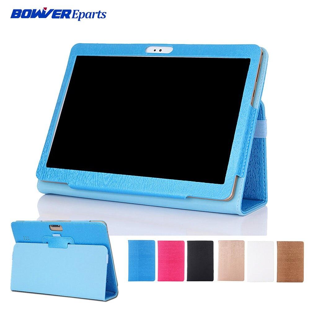 "Funda plegable de cuero PU para Tablet IRBIS TZ195 / TZ 195 3G 10,1"""