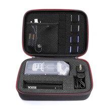 Étui à enregistreur Portable professionnel avec incrustation de mousse bricolage pour ZOOM H1, H2N, H5, H4N, H6, F8, Q8 enregistreurs de musique pratiques