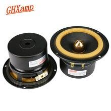 Ghxamp Hifi 4 pouces gamme complète haut-parleur 4ohm 25 W Home cinéma 2019 haut-parleurs pleine fréquence cuir Edeg Bullet Anti-magnétique 2 pièces