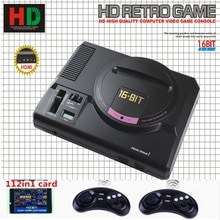 gift 126 classic games card HDMI TV Out For SEGA MEGA Drive Simulator MD Console Computer Video Game Console Sonic Contra