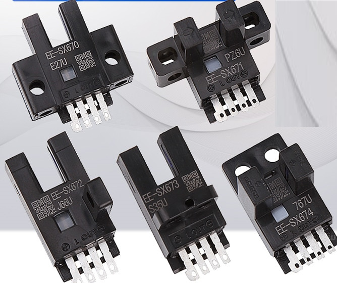 10 piezas EE-SX670 EE-SX671 EE-SX672 EE-SX673 EE-SX674 Omron nuevo interruptor fotoeléctrico sensores