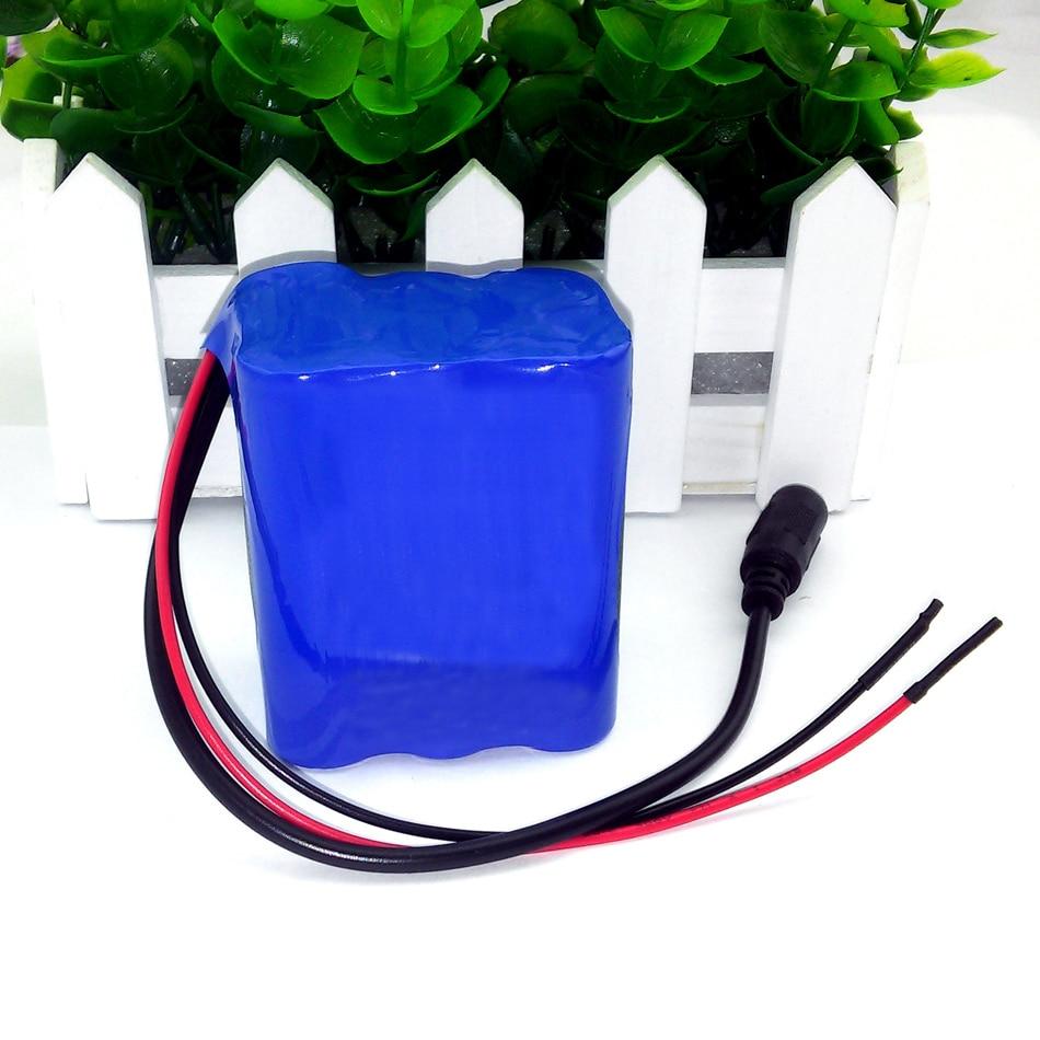 12 V 3.6Ah 3600 mAh 18650 batterijen 12 V + PCB Lithiumbatterij Boord Gratis Verzending