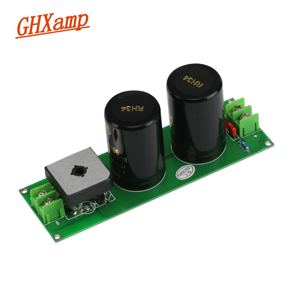 Усилитель источника питания выпрямитель фильтр силовая плата одиночный AC к DC 10000 мкФ 50V