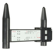 4 5 6 8 Lug PCD Gauge Ruler Rim Car Wheel Bolt Pattern Measuring Gauge Tool