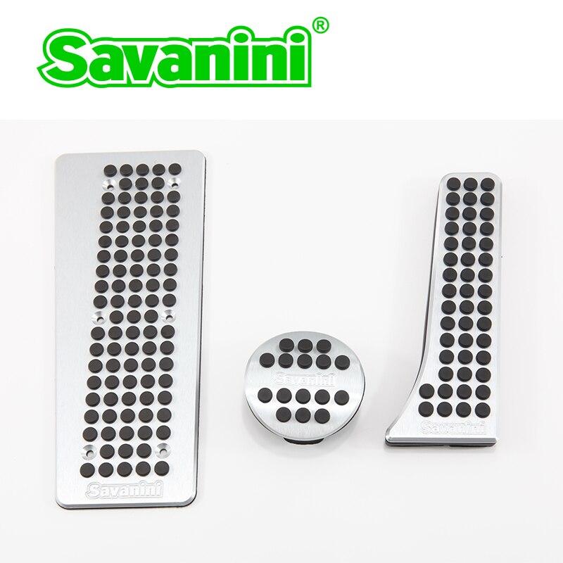 Savanini-repose-pied de voiture   Accélérateur de frein de voiture, couvercle de plaquette de gaz, pas de perçage pour Benz SMART Fortwo(2009-2014y) en alliage daluminium!