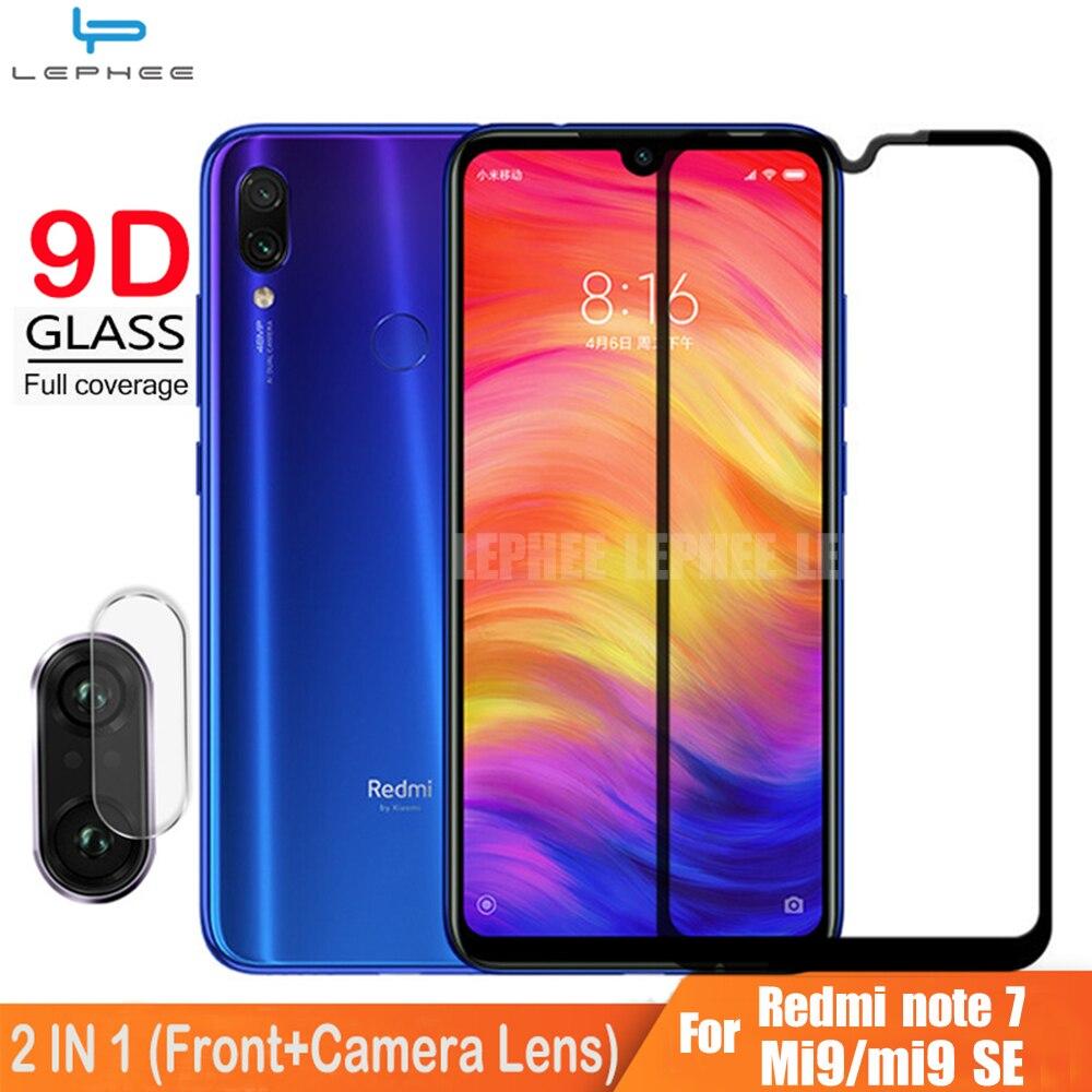 9D полное покрытие стекло для Xiaomi Redmi note 7 pro протектор экрана закаленное стекло на Redmi note 7 pro Note7 камера защитная пленка HD