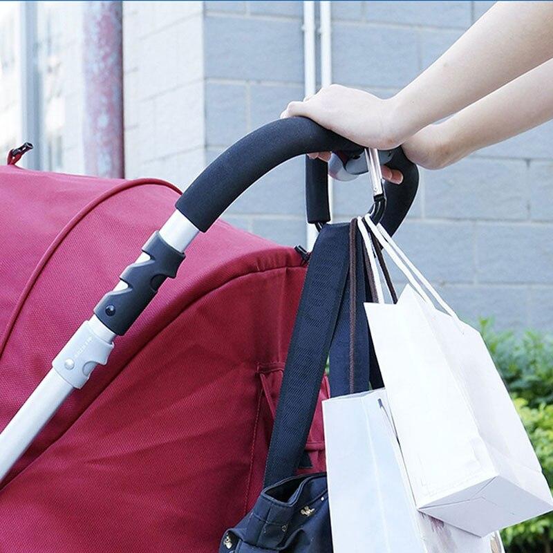 Детская коляска трендовая сумка для пеленок вешалка коляски зажим карабин|stroller