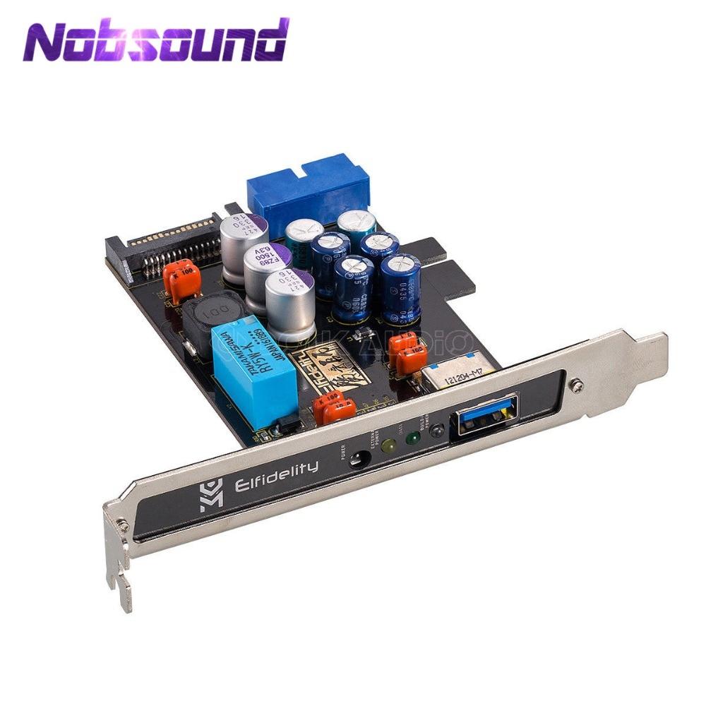 Nobsound Elfidelity AXF-100 USB Power Source HiFi Interface Preamp Internal Filter For USB Audio Device DAC