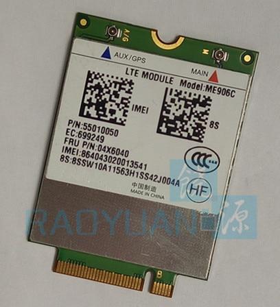 4G WLAN para HUAWEI ME906C FRU04X6060 módulo LTE para Lenovo ThinkPad 10 TDD LTE/TD-SCDMA/FDD LTE 4G tarjeta WLAN