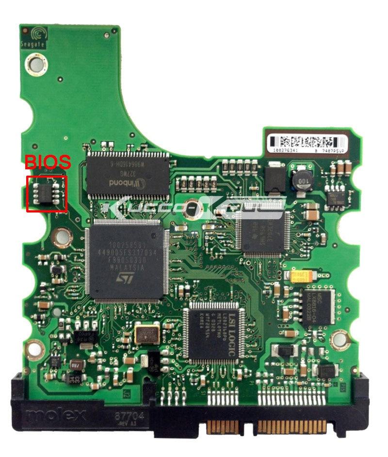 hard drive parts PCB logic board printed circuit board 100306336 for Seagate 3.5 SATA hdd data recovery hard drive repair