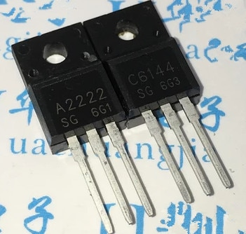 10pcs fqpf12n60c 12n60c 12n60 fqpf12n60 new to 220f 10PCS/Lot 5Pairs  A2222 C6144 TO-220F  (5pcs 2SA2222 + 5pcs 2SC6144) TO-220 new original