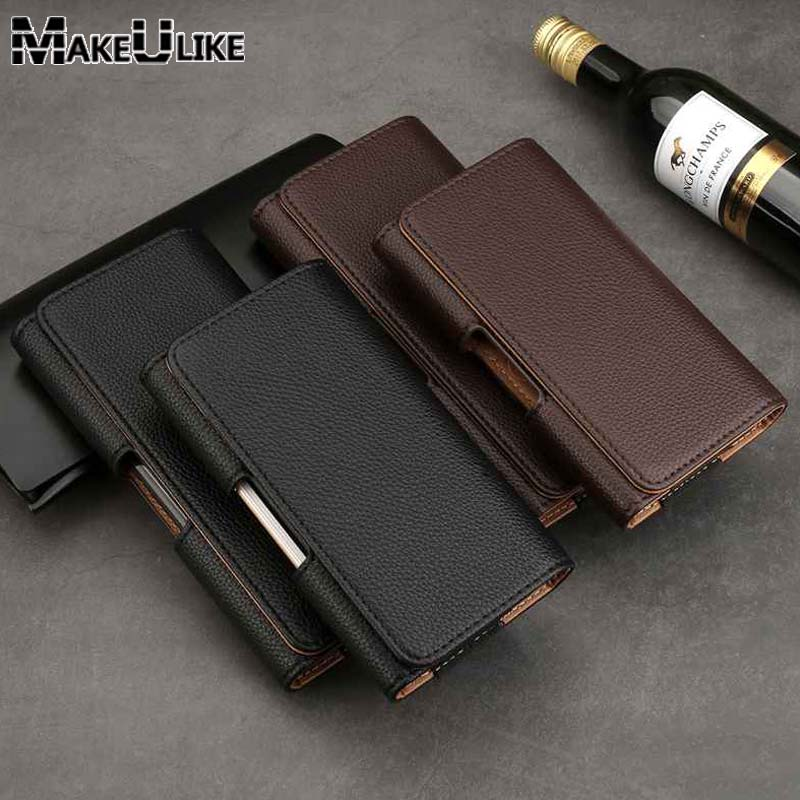 MAKEULIKE кожаный чехол для Nokia 7 Plus Litch защитный чехол на ремешке сумка для Nokia 2 3 5 6 7 8 9 чехол