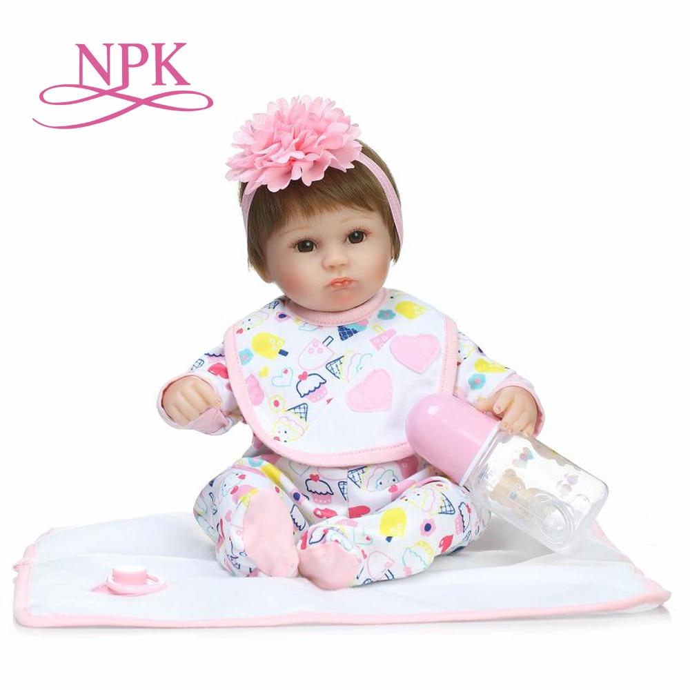 NPK, muñeca de bebé bonita y suave, bebés realistas, bebés reborn, juguetes para niños, regalo de Navidad, juguetes populares