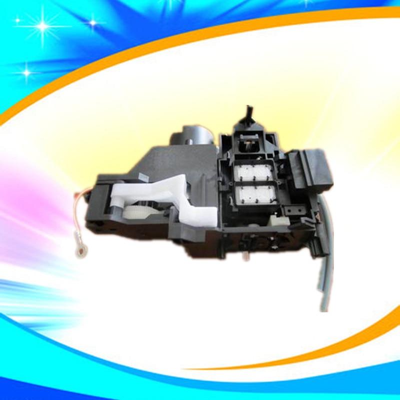 Unidad de limpieza R1800 con bomba de tinta R1900, Unidad de limpieza con nuevo puntero original, estación de tapas R2000, Unidad de limpieza probada bien