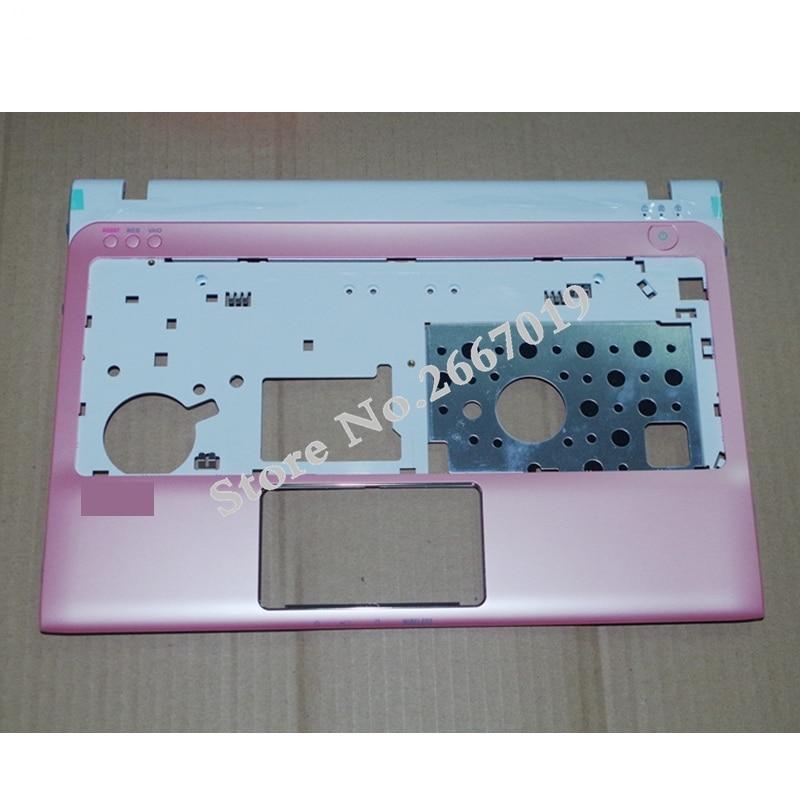 غطاء مسند للمعصم جديد لسوني SVE11 E series C shell pink 012-200A-9914 أبيض 012-100A-9914
