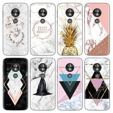 For Motorola G8 Plus G7 Power G6 G5 G5S Z Z2 Z3 Z4 E6 E4 E5 Play Plus EU Go Marble Clear TPU Phone Cases For Motorola One Fundas