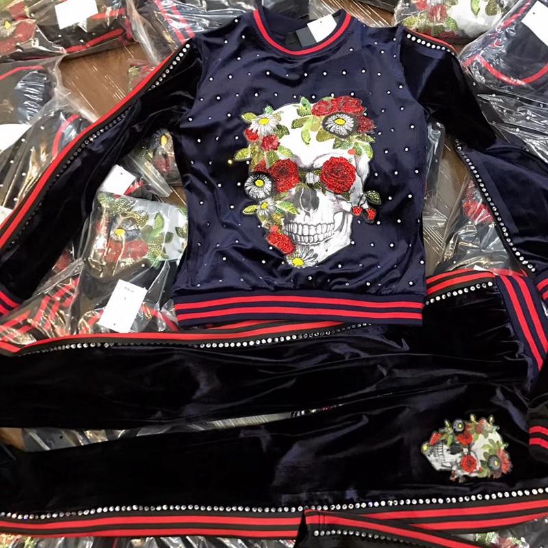 2019 женский костюм из бархатистой ткани с круглым воротником и цветочной головкой